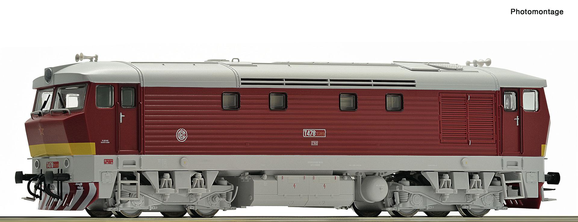 70921 Diesellok T478.1 CSD Snd.-1