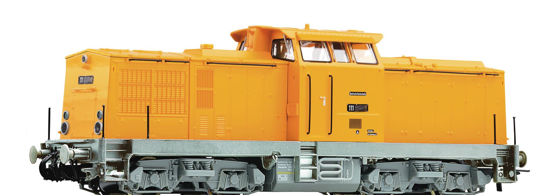 70814 Diesellok BR 111 gelb HE-Snd.