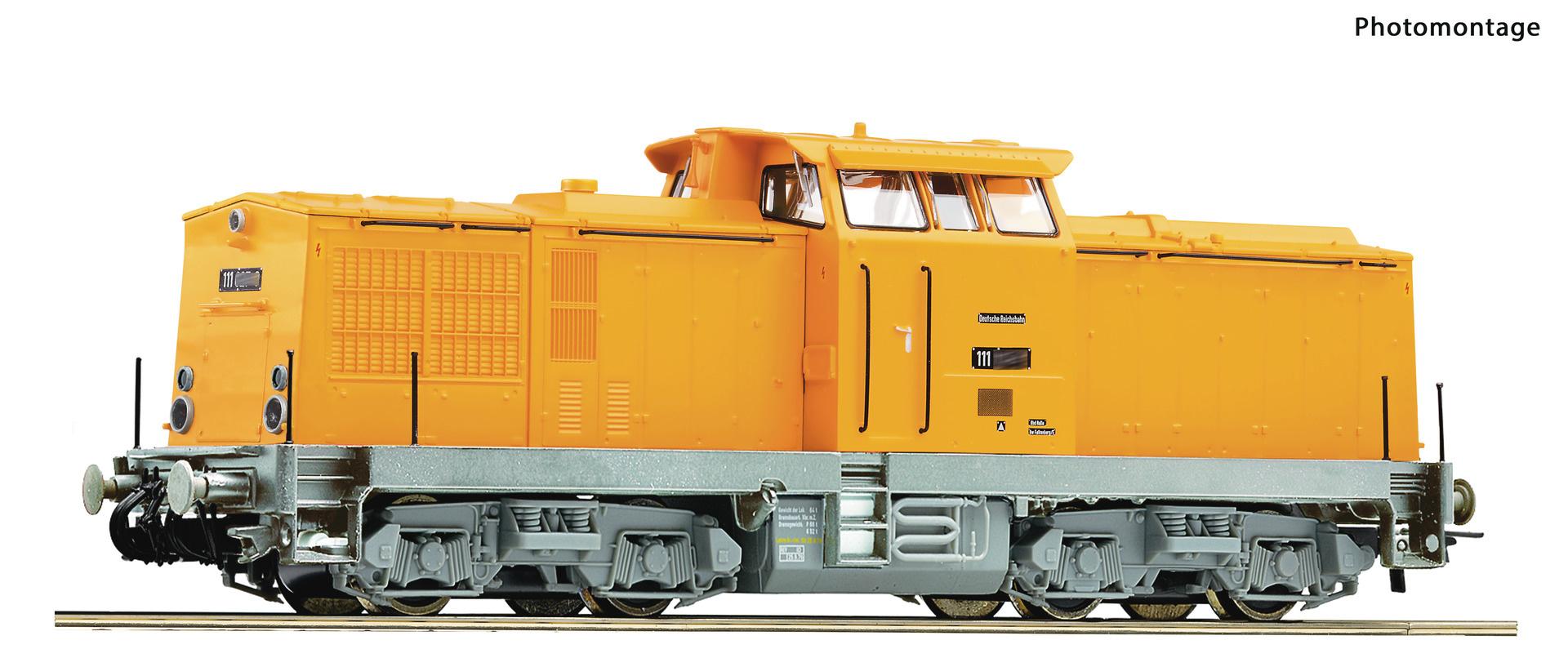 70814 Diesellok BR 111 gelb HE-Snd.-1