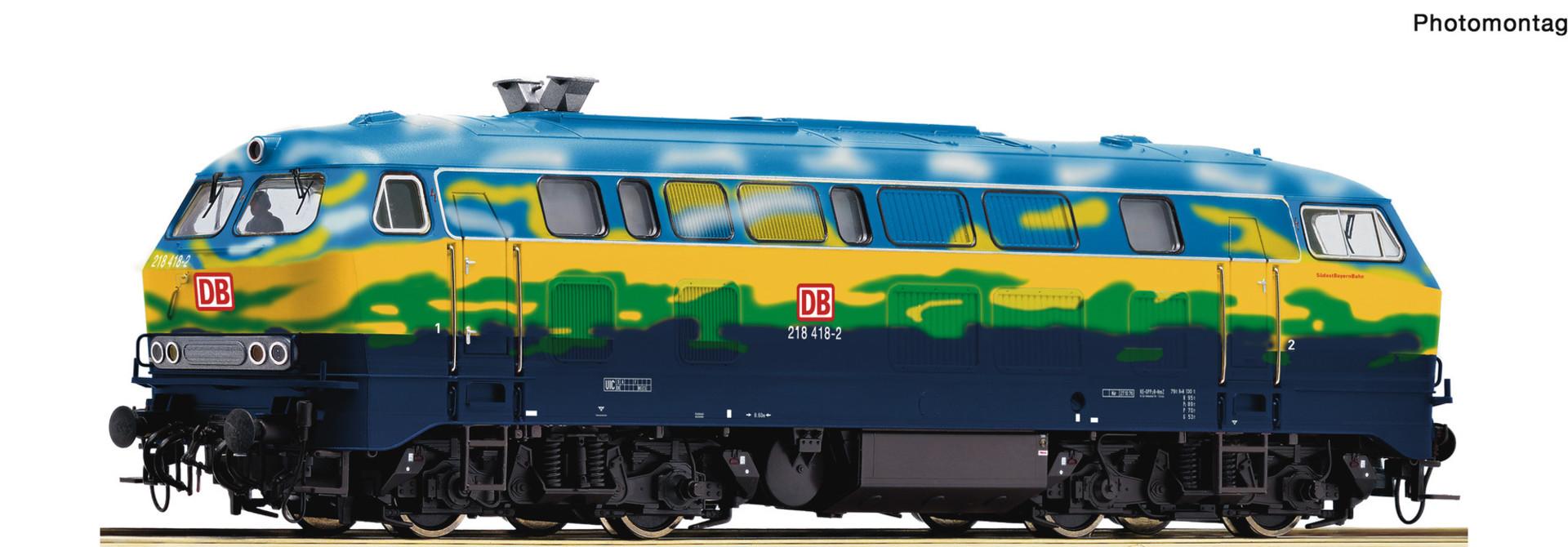 70758 Diesellok BR 218 Touri Snd.