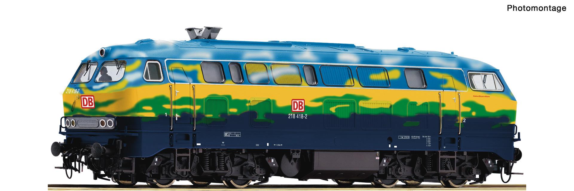 70758 Diesellok BR 218 Touri Snd.-1