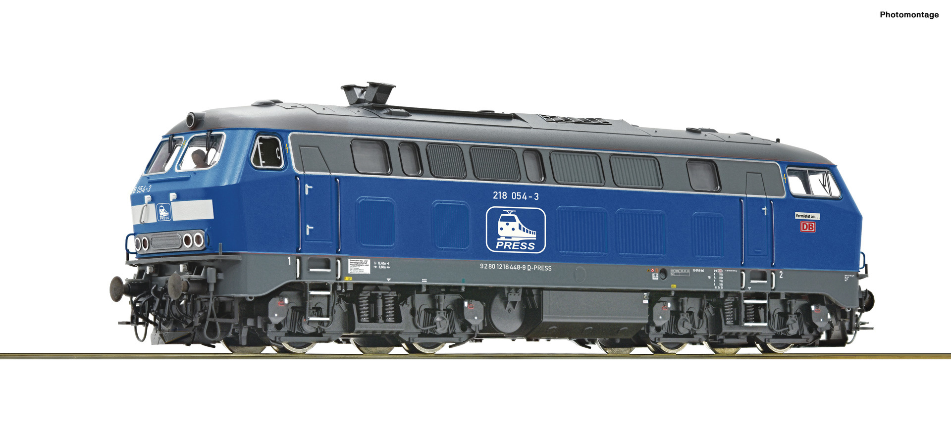 70755 Diesellok BR 218 Press Snd.-1