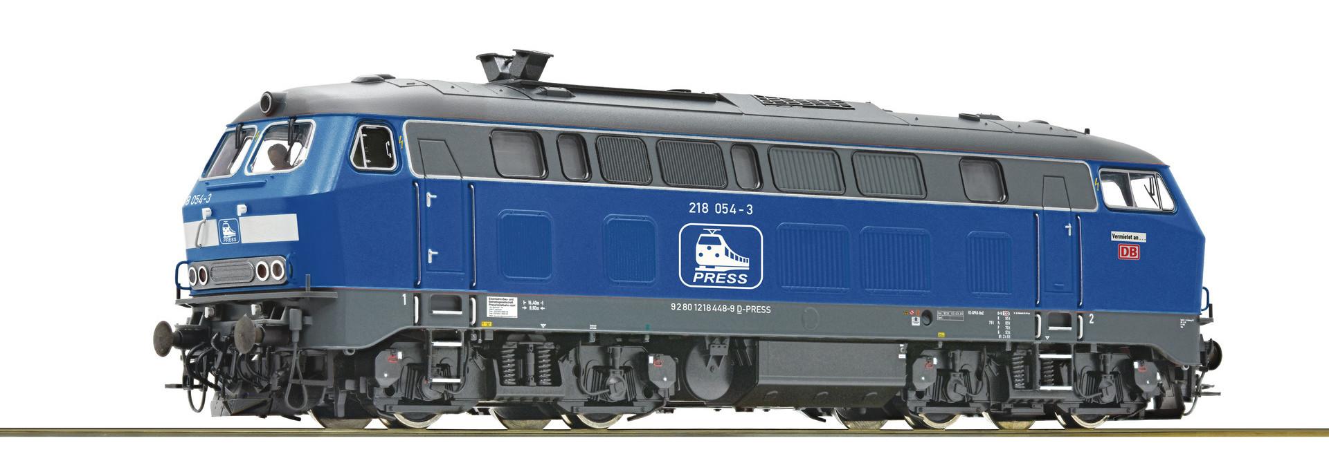 70754 Diesellok BR 218 Press