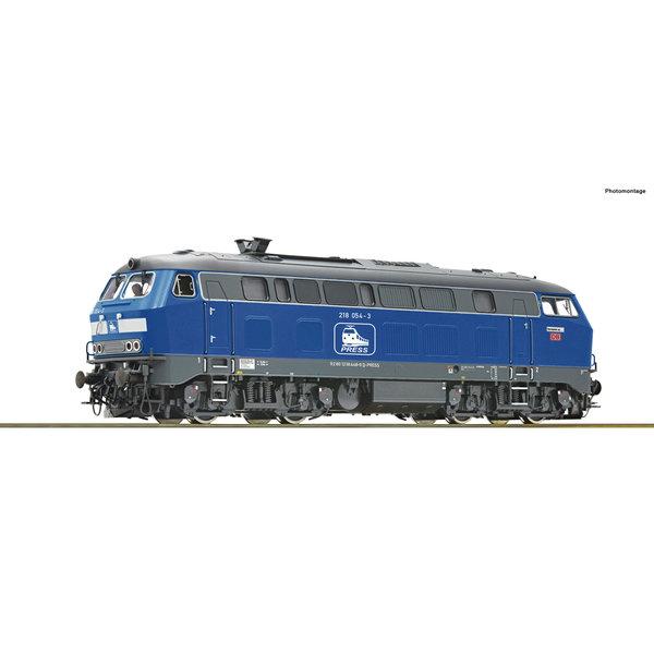 Roco 70754 Diesellok BR 218 Press
