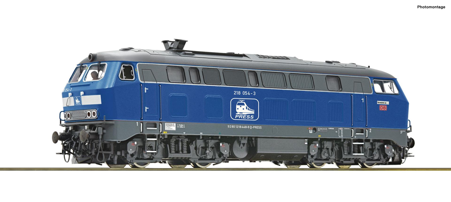 70754 Diesellok BR 218 Press-1