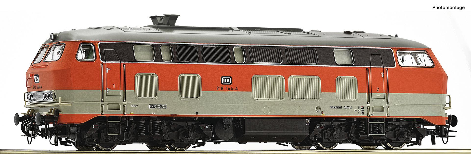 70748 Diesellok BR 218.1 DB-1