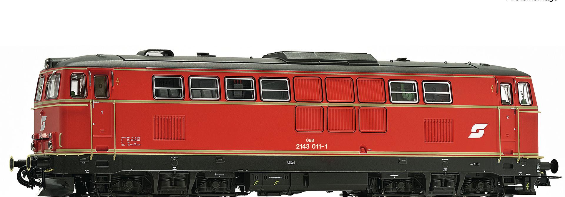 70713 Diesellok Rh 2143 ÖBB