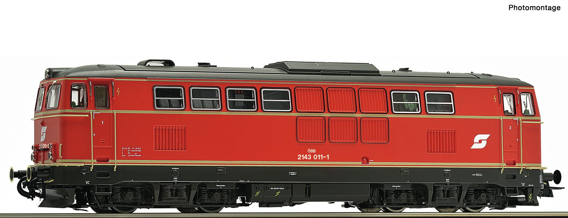 70713 Diesellok Rh 2143 ÖBB-1