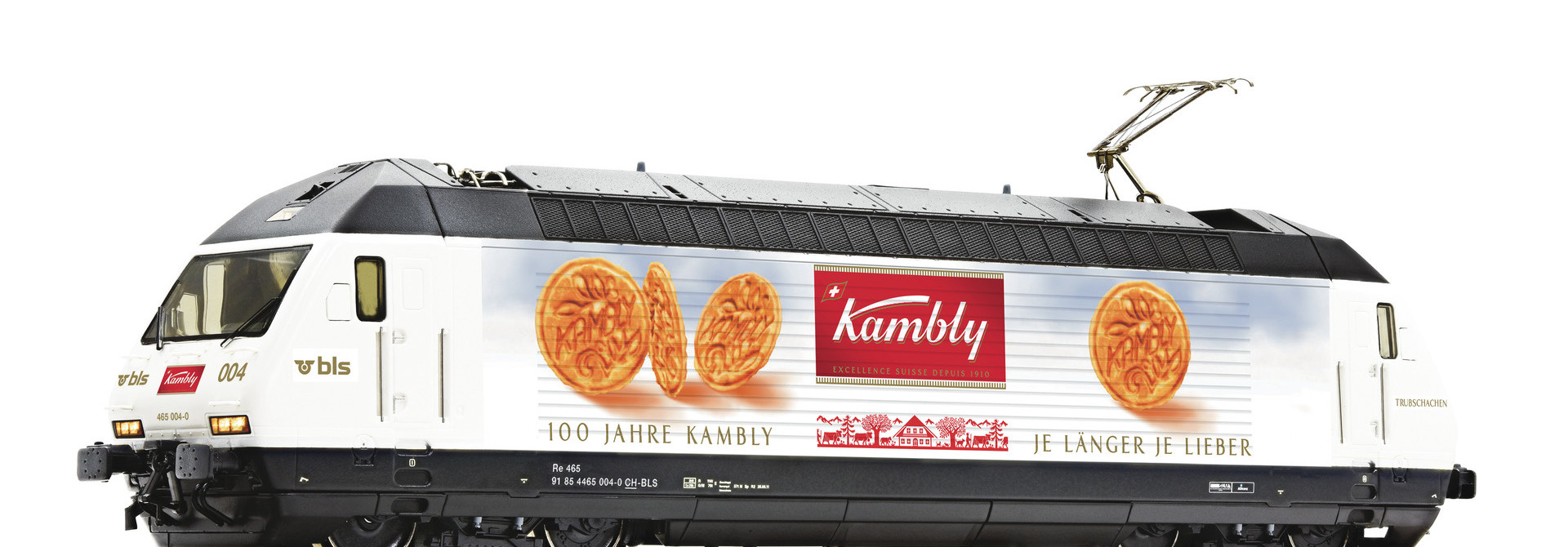 70668 E-Lok 465 004 BLS/Kambly