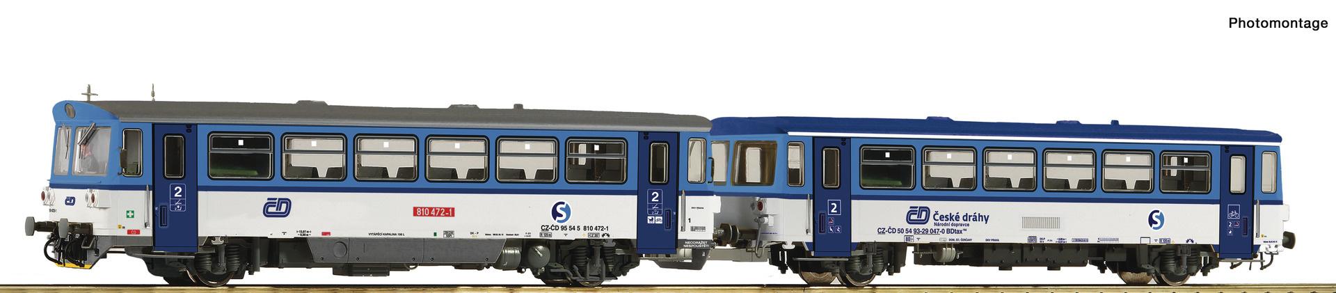 70378 Dieseltriebw. Rh 810 CD-1