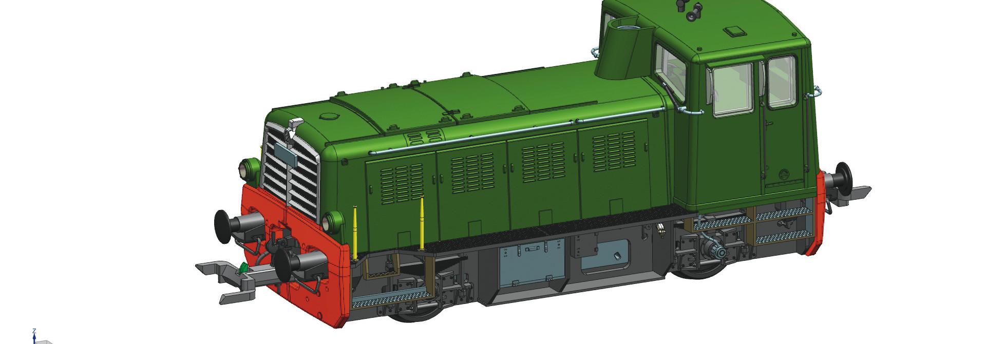 72003 Diesellok MG2 RZD DC-Snd.