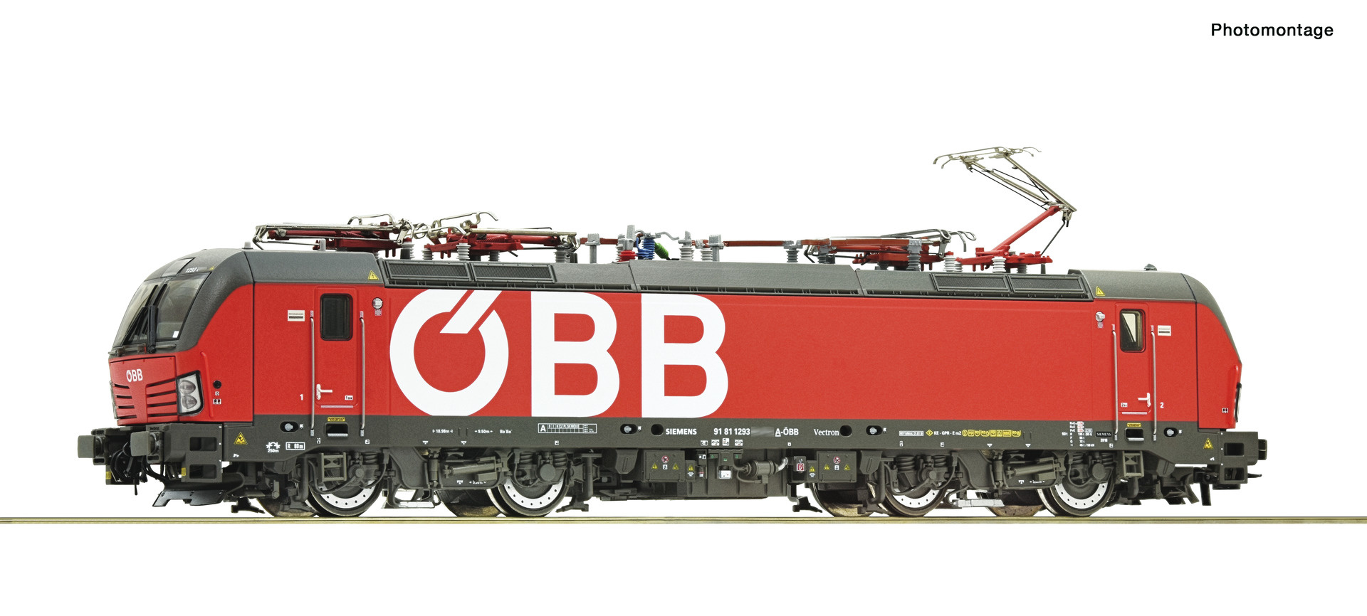 71958 E-Lok Rh 1293 ÖBB-1