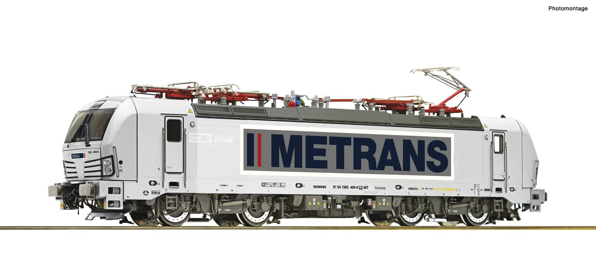 71947 E-Lok BR 383 Metrans DCC sound-1