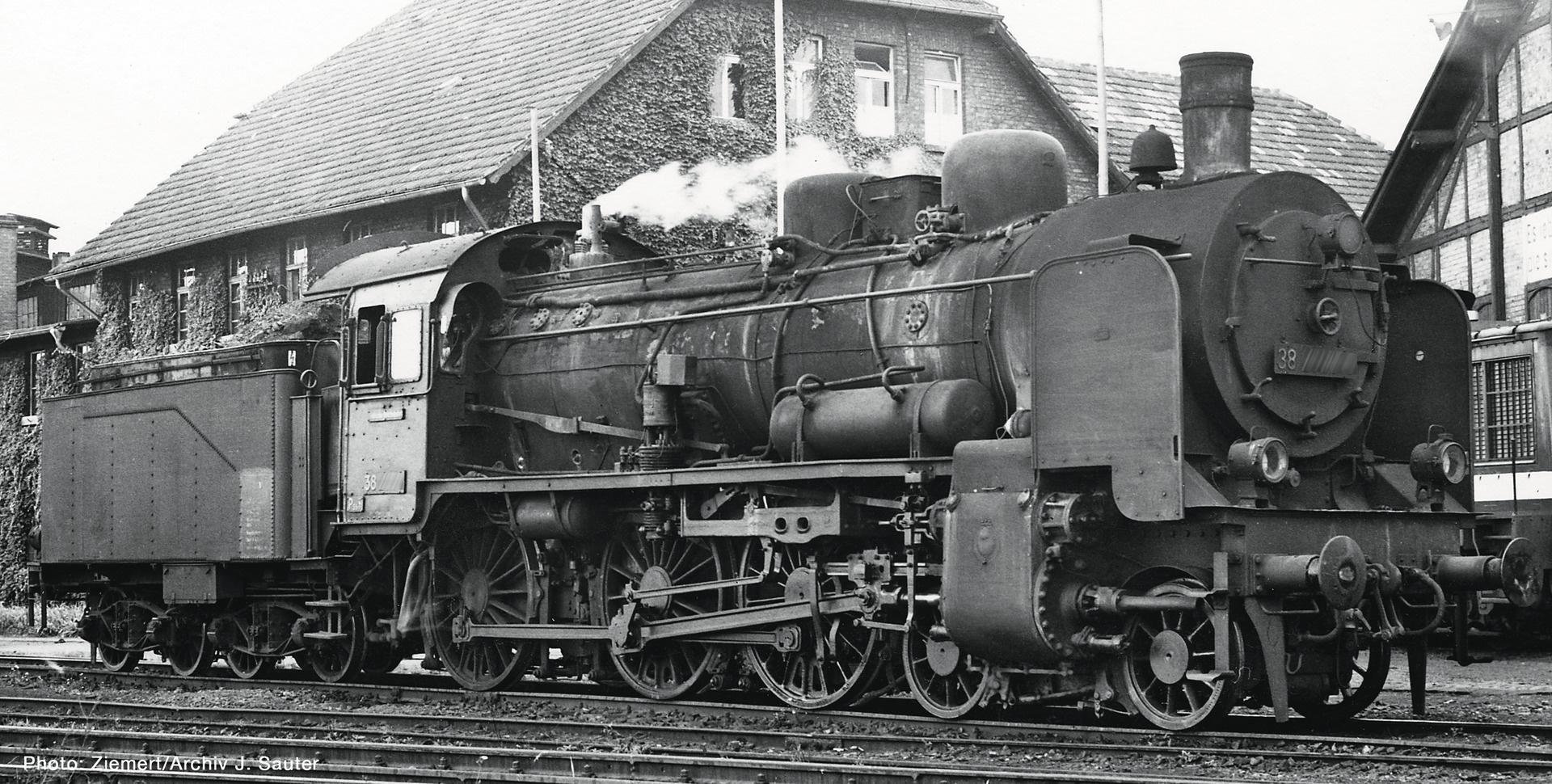 71381 Dampflok BR 38 DR-1