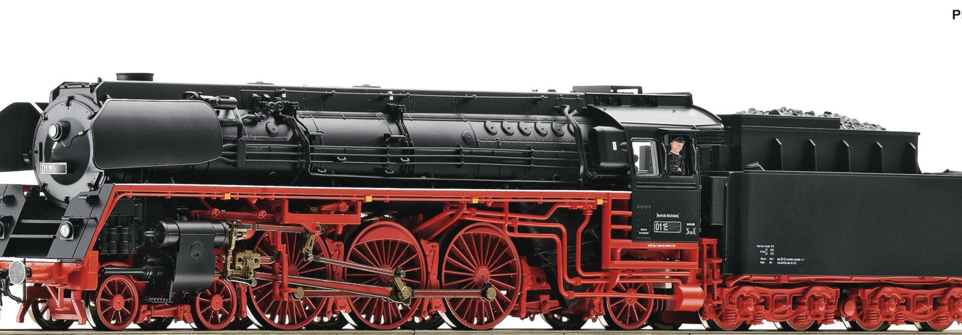 71266 Dampflok BR 01.5 DR HE-Snd.