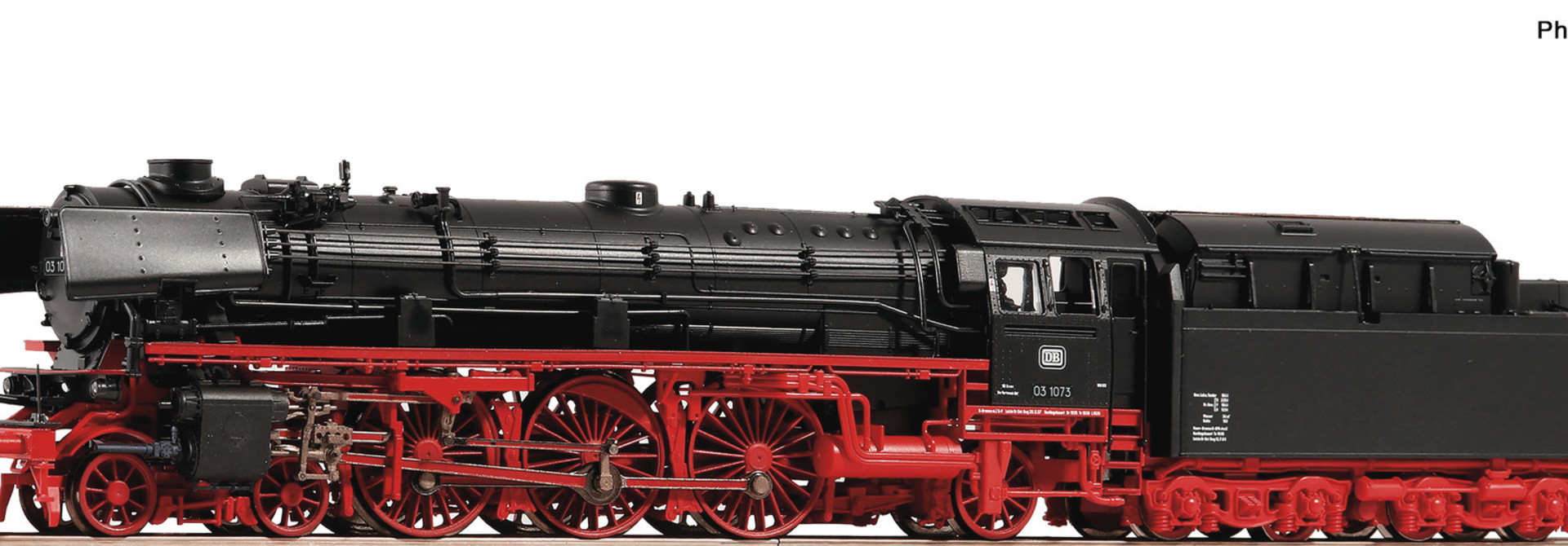 73121 Dampflok BR 03.10 DB Snd.