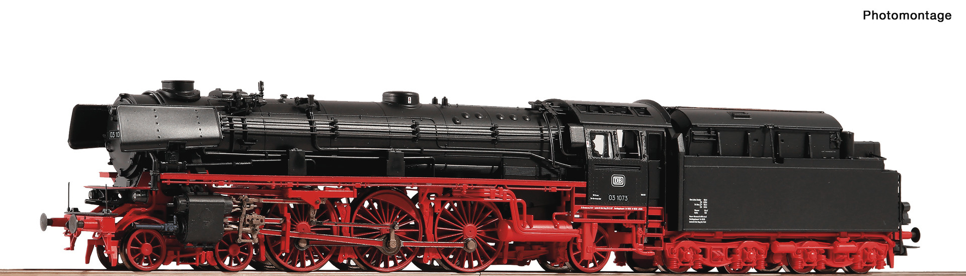 73121 Dampflok BR 03.10 DB Snd.-1