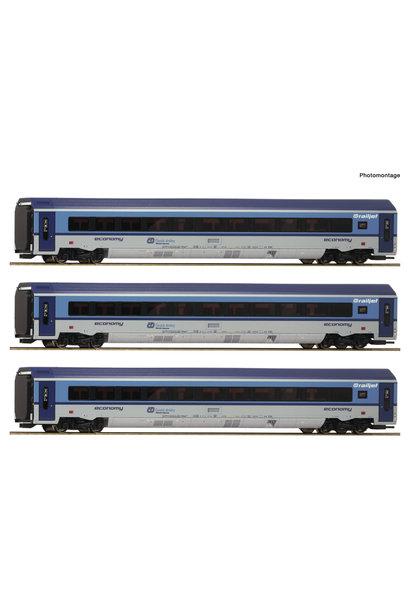 74069 3er Set Railjet CD AC