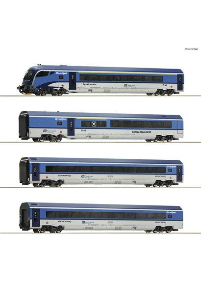 74066 4er Set Railjet CD AC