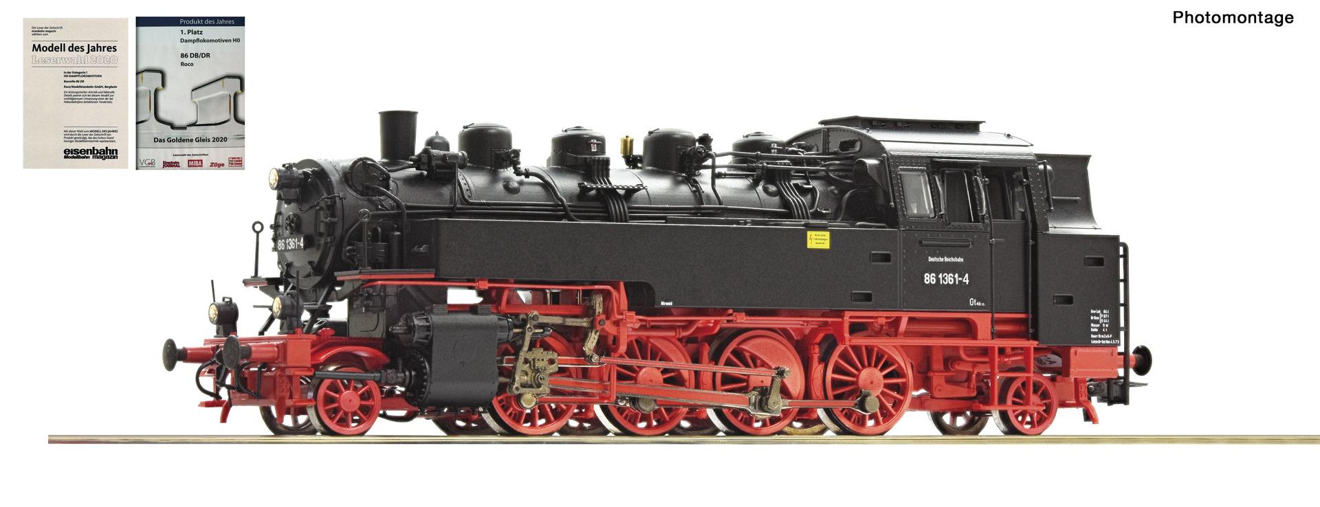 73033 Dampflok BR 86 DR Snd.-1