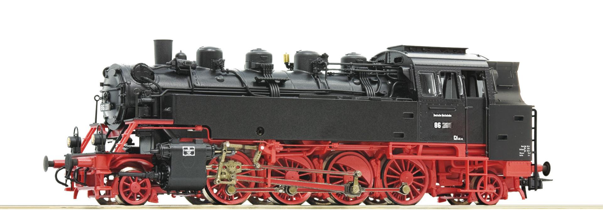 73029 Dampflok BR 86 DR Snd.