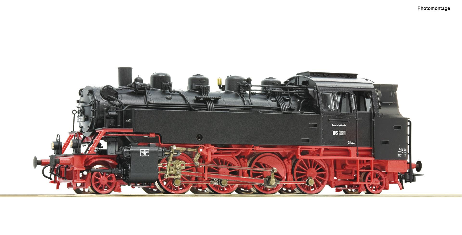 73029 Dampflok BR 86 DR Snd.-1