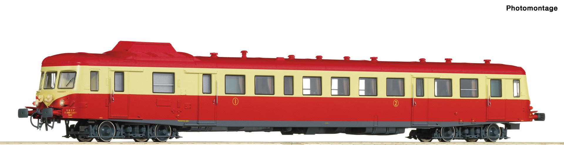 73008 Dieseltriebwagen X2800 rt/be-1