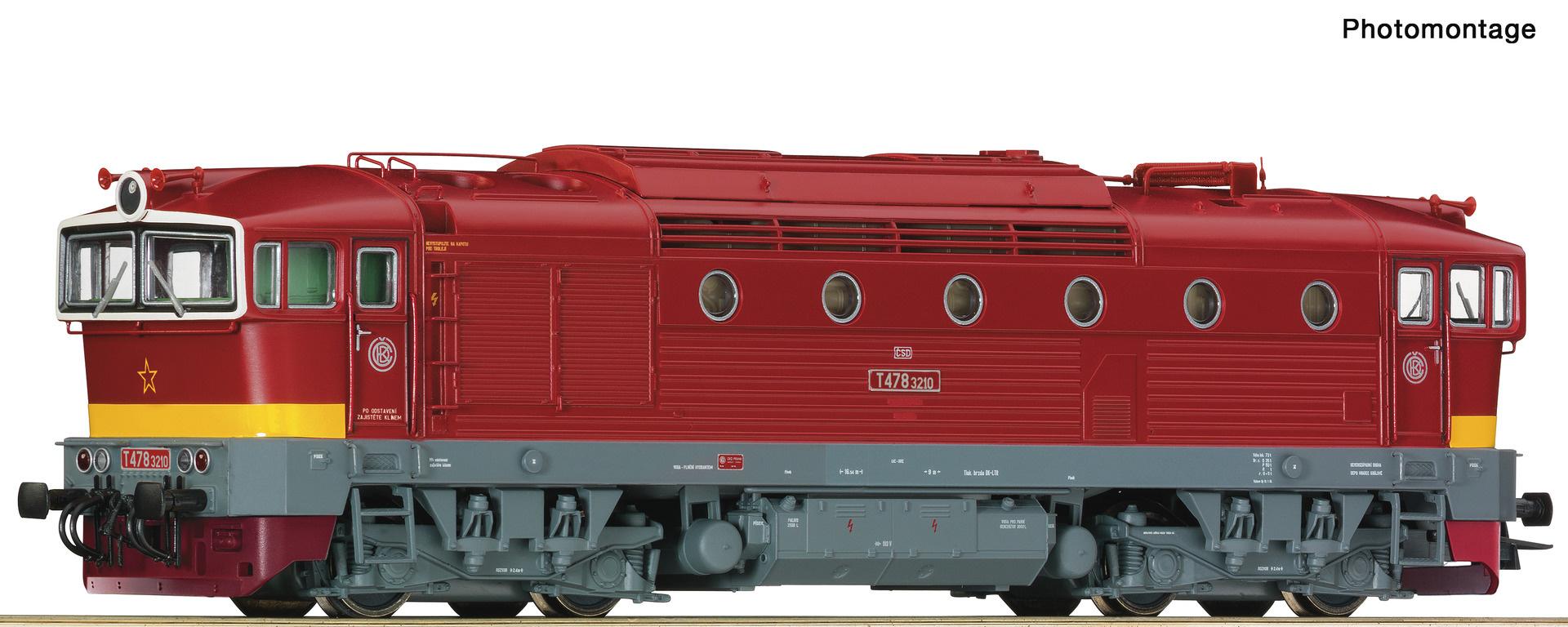 72947 Diesellok T478 CSD Snd.-1