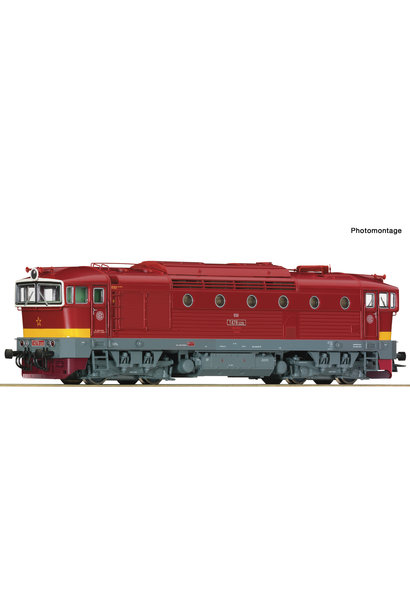72946 Diesellok T478 CSD