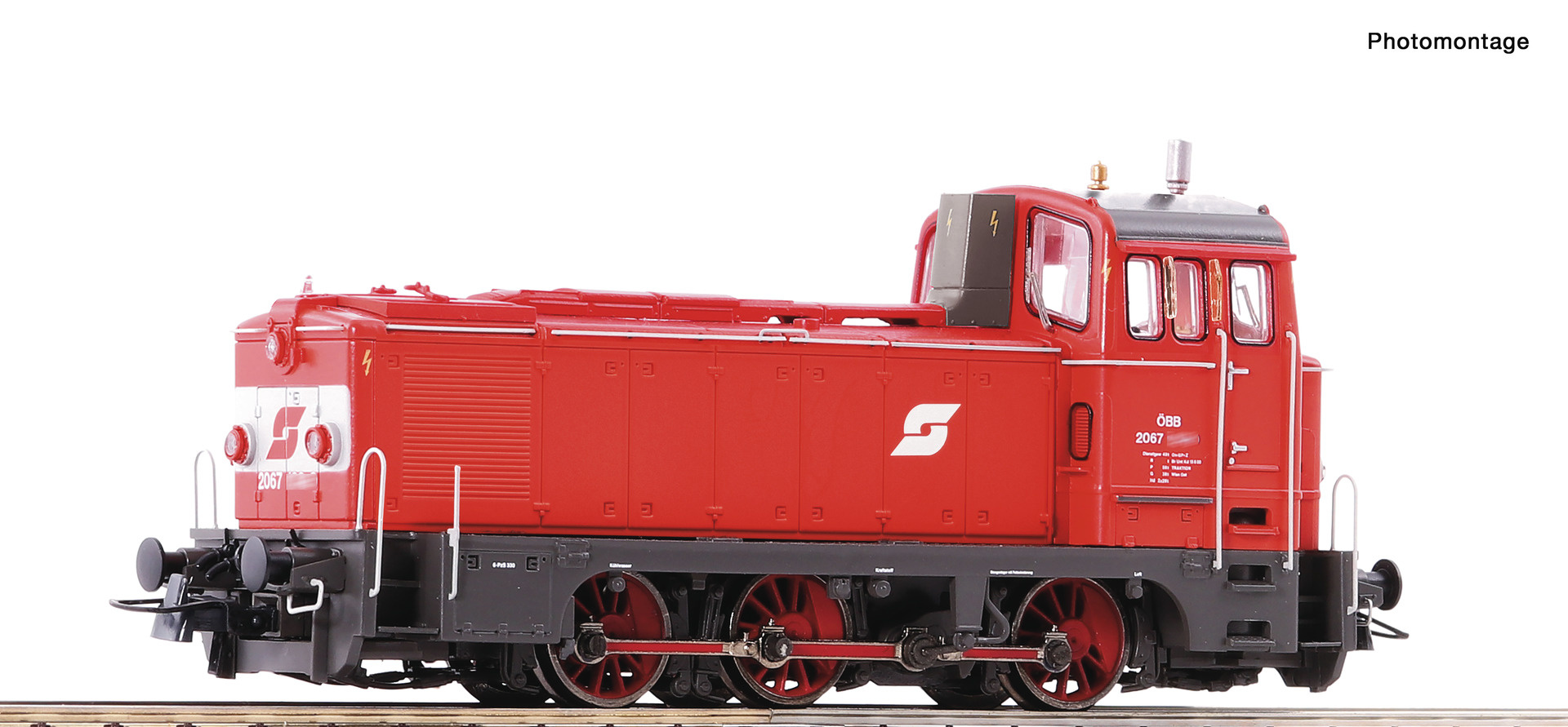72911 Diesellok Rh 2067 ÖBB Snd.-1