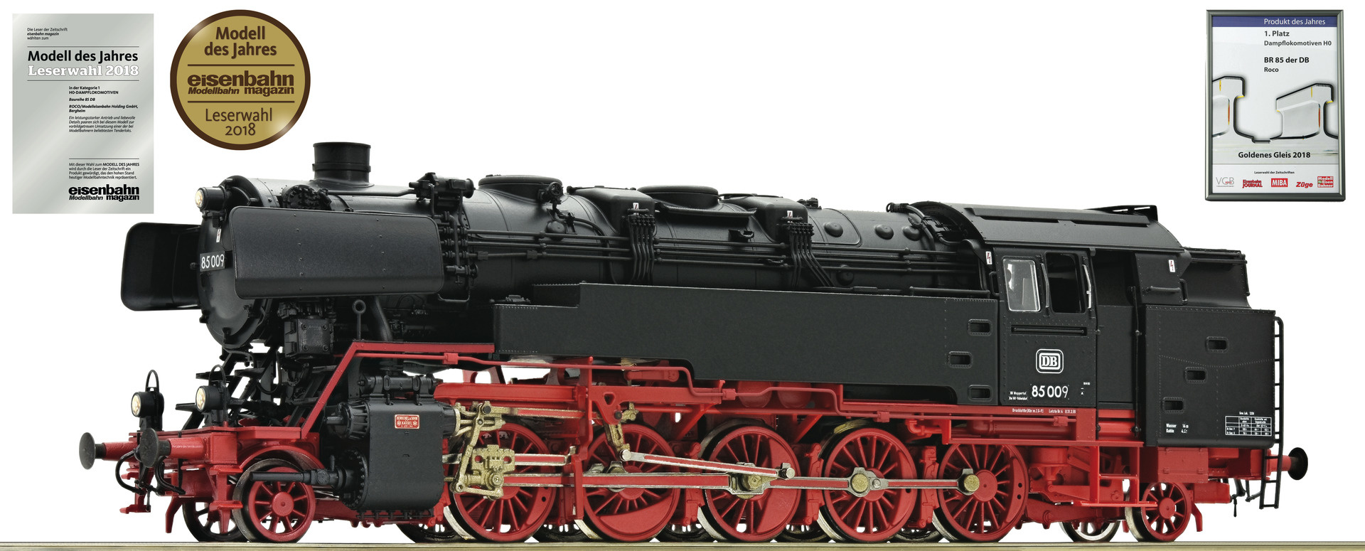 72272 Dampflok 85 009 DB-1