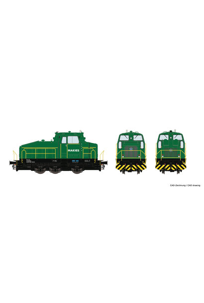 72180 Diesellok DHG 500 Makies
