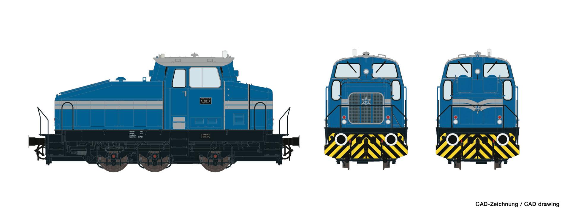 72179 Diesellok DHG 500 Henschel-1