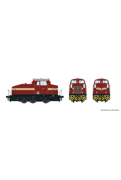 72178 Diesellok DHG 500 Rheinp.