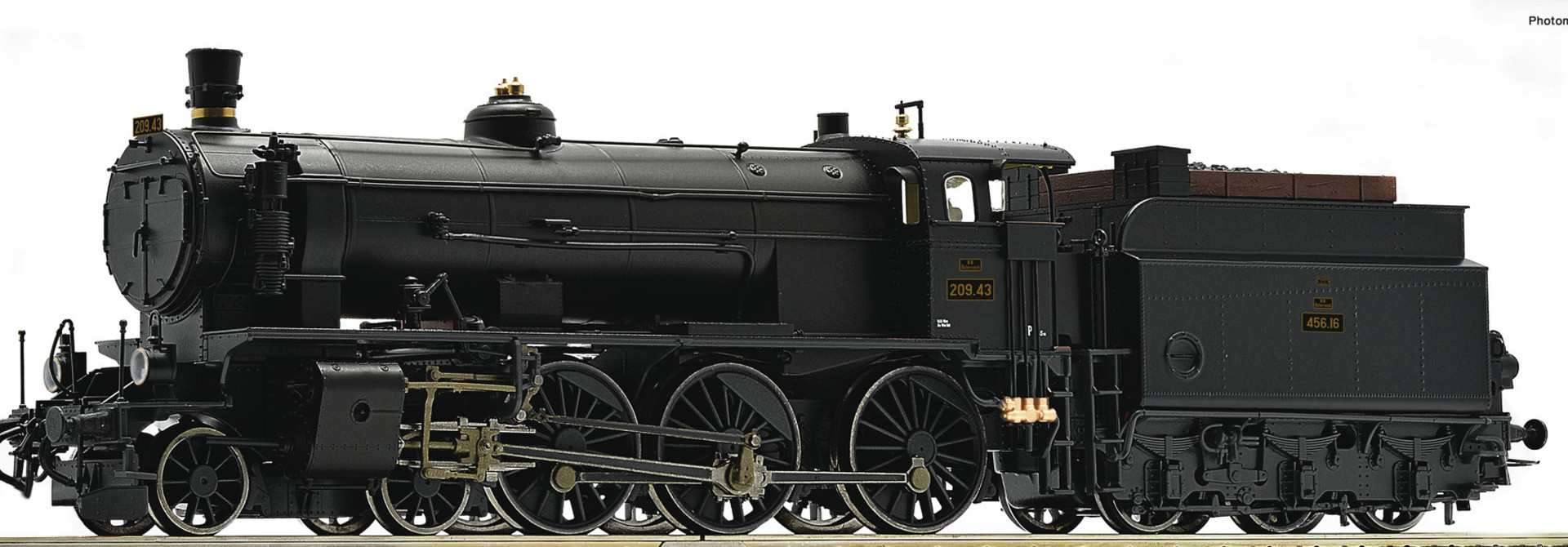 72108 Dampflok Rh 209 BBÖ