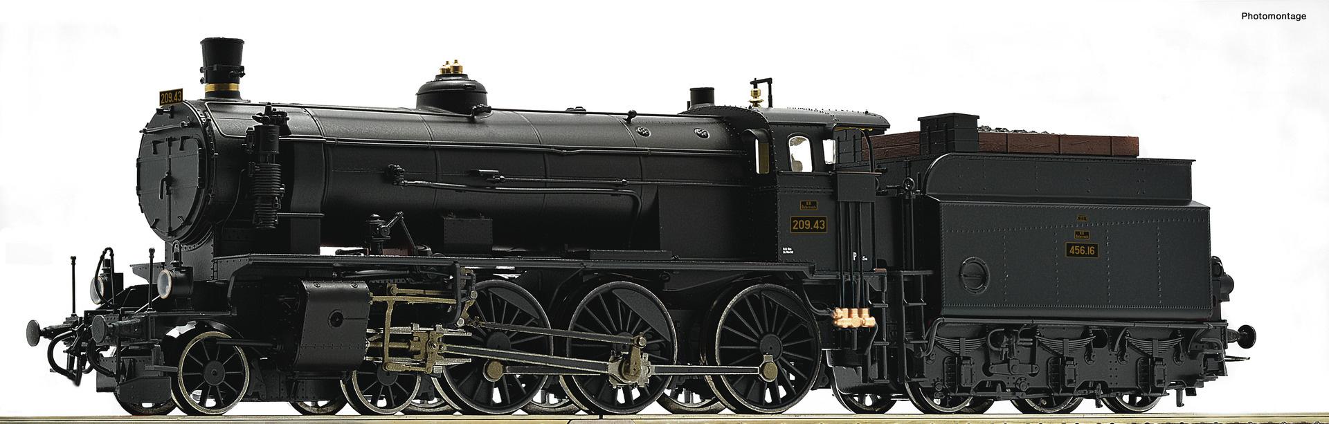 72108 Dampflok Rh 209 BBÖ-1