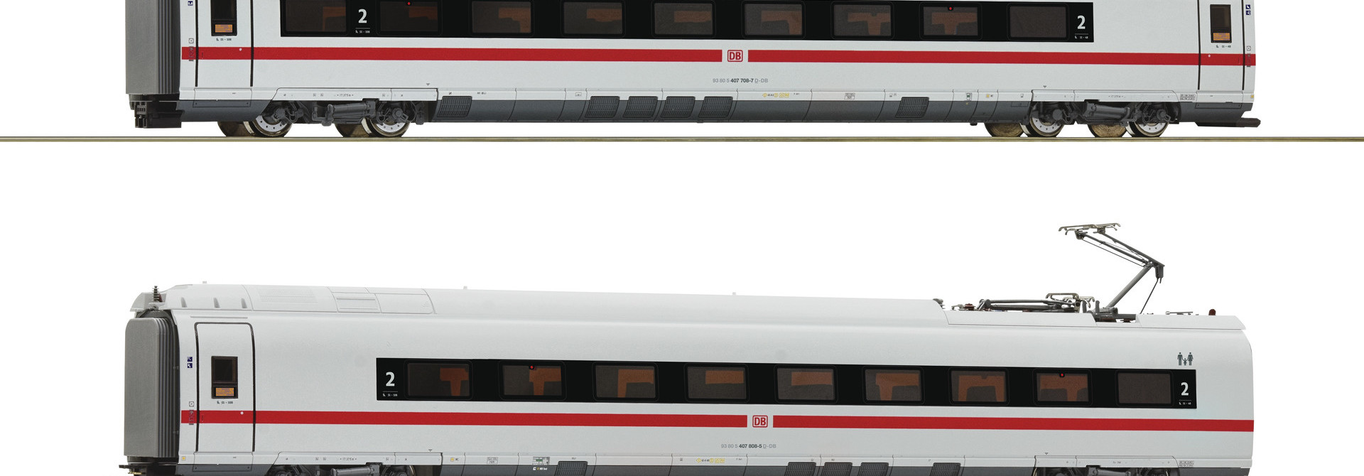 72099 2er Set BR 407 #2 DCC