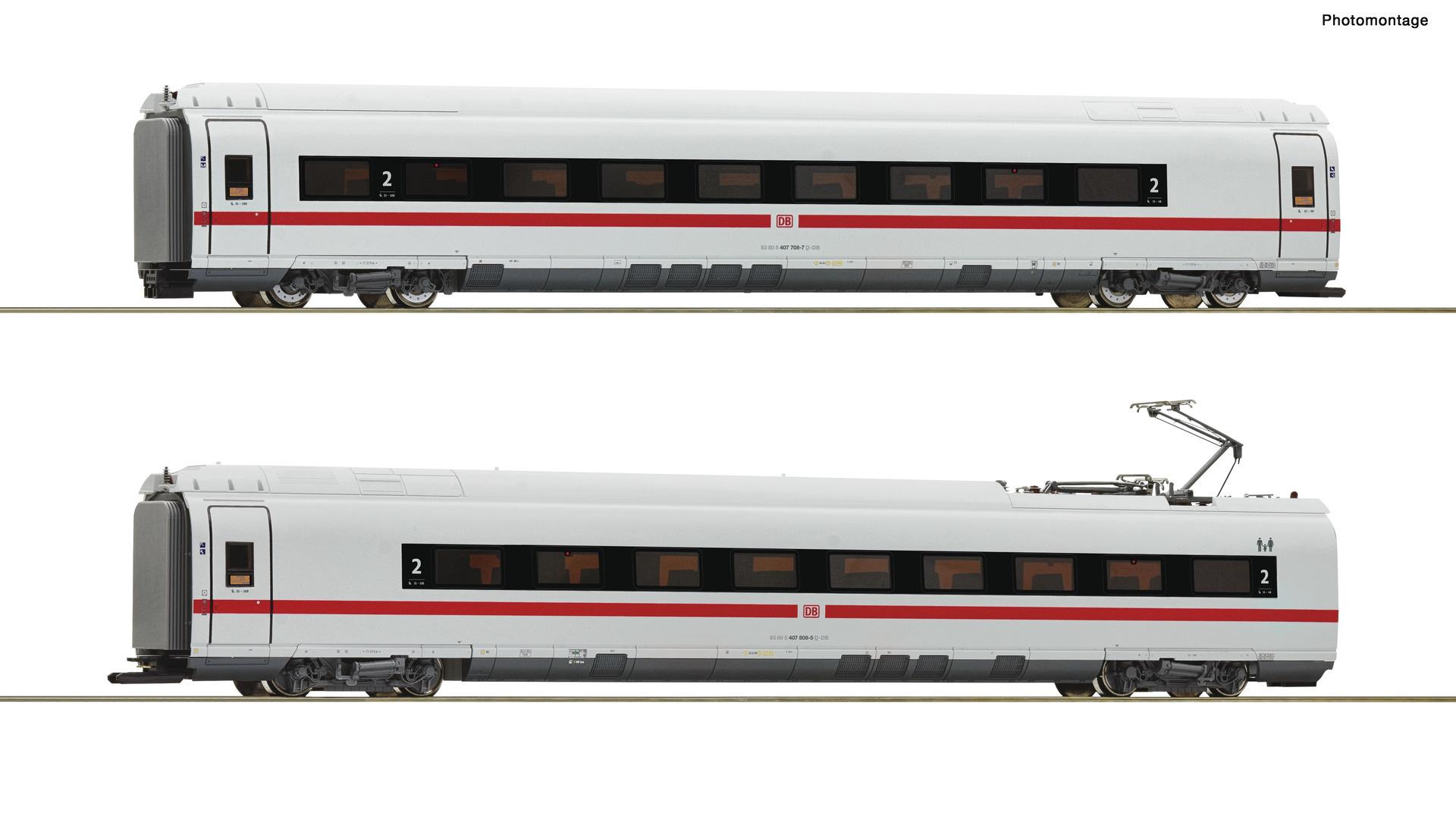 72099 2er Set BR 407 #2 DCC-1
