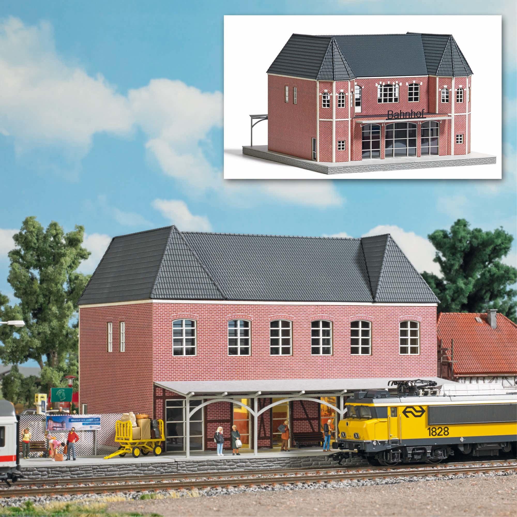 1661 Bahnhof Bad Bentheim H0-1