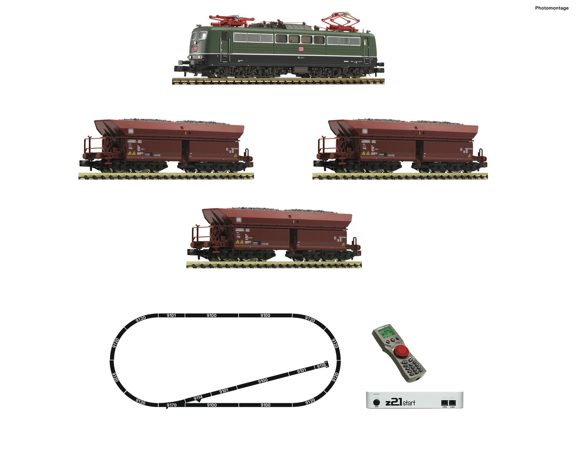931896 z21 Set E-Lok BR 151 + Gz-1