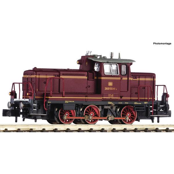 Fleischmann 722481 Diesellok BR 260, rot DCC