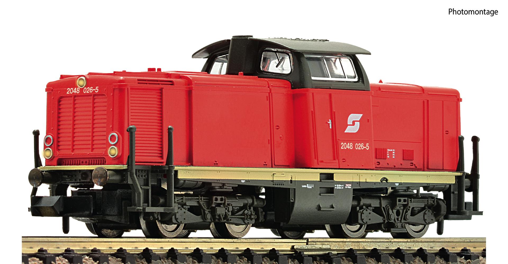 722887 Diesellok Rh 2048 ÖBB DCC-1
