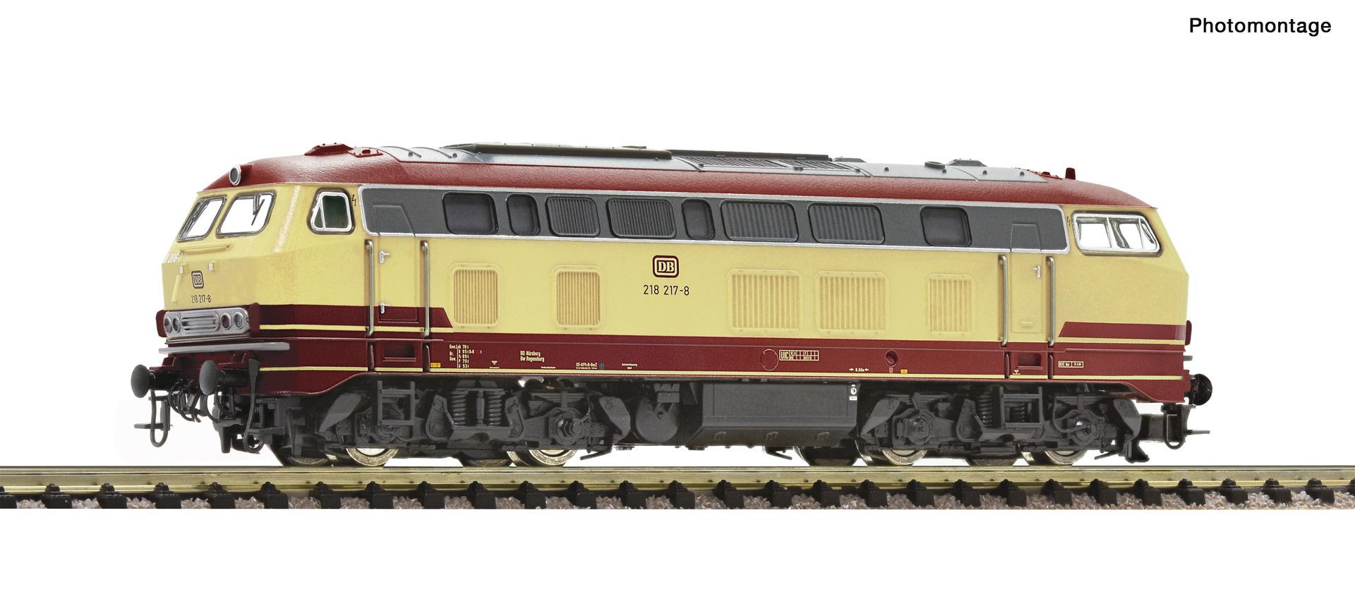 724219 Diesellok 218 217 DB-1