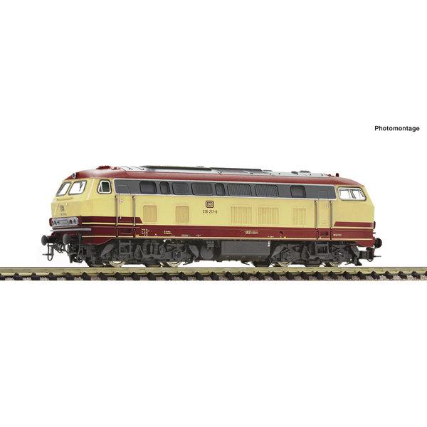Fleischmann 724289 Diesellok 218 217 DB Snd.