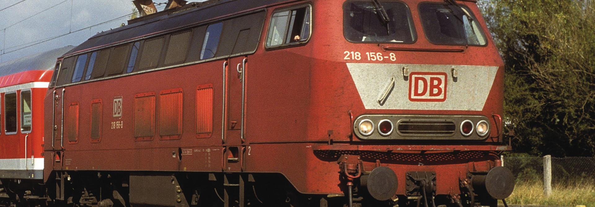 724300 Diesellok BR218 or. Snd.