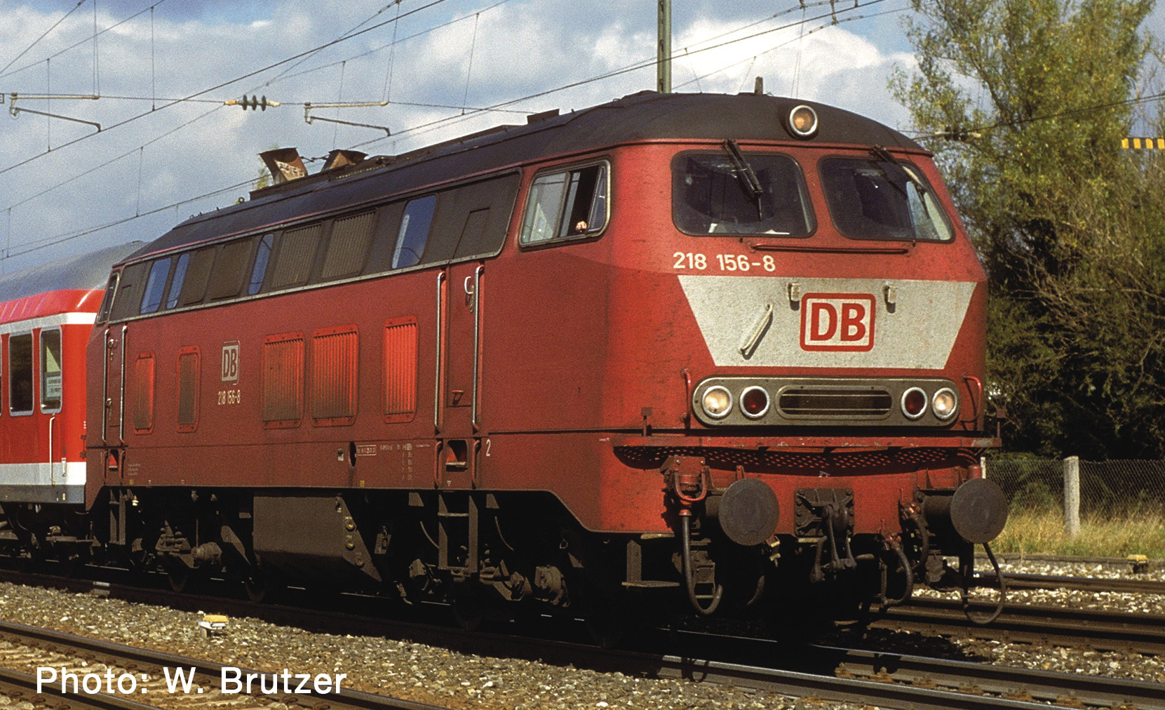 724300 Diesellok BR218 or. Snd.-1