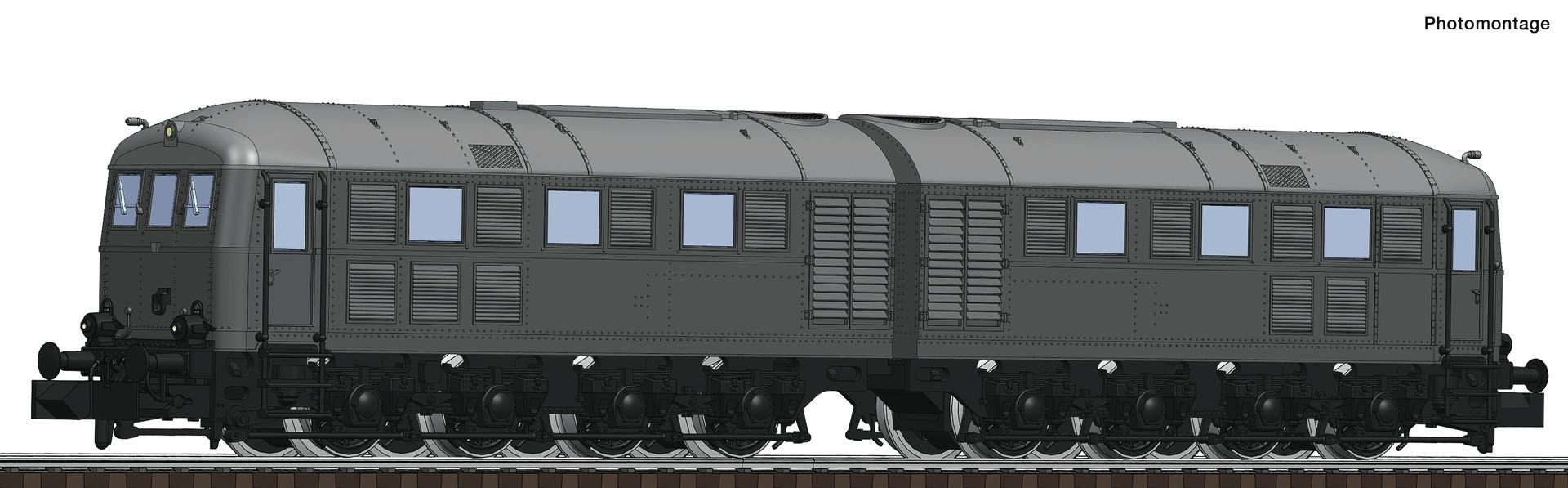 725101 Doppel-Diesellok V188 grau-1
