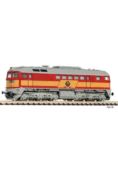 725211 Diesellok M62, orange, gelb