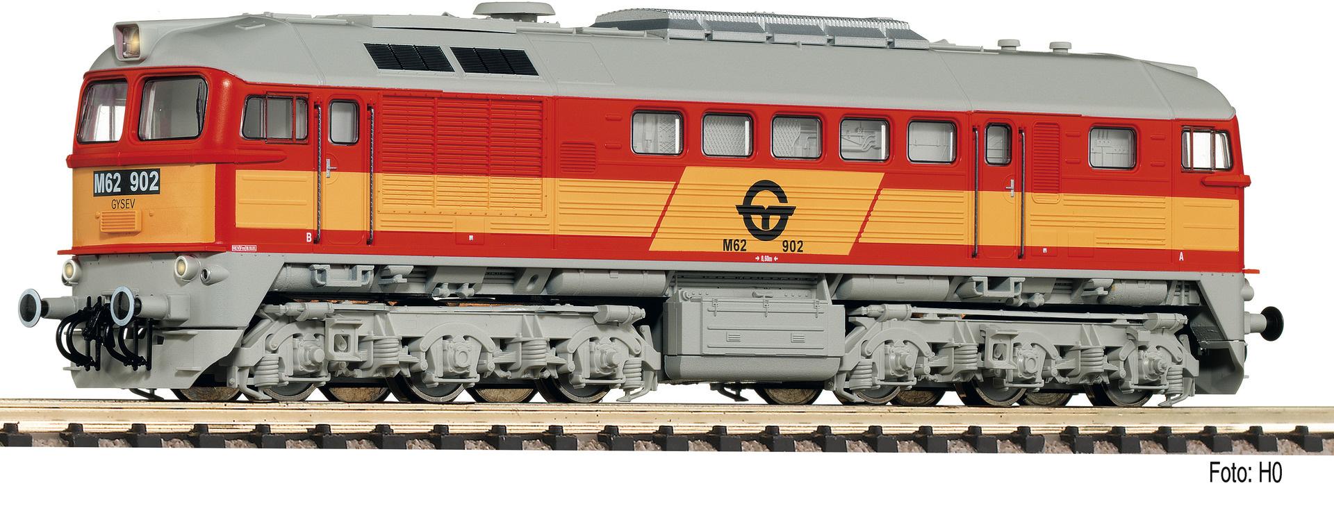 725211 Diesellok M62, orange, gelb-1