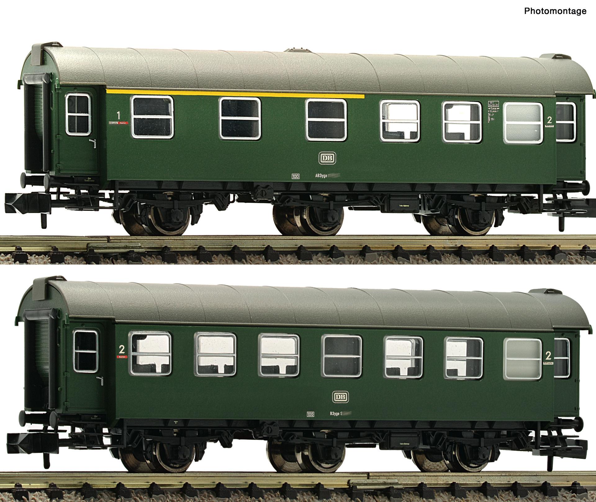 809909 2er Set Umbauwag. DB-1